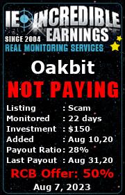 ссылка на мониторинг https://incredible-earnings.com/?a=details&lid=6398
